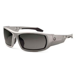 Ergodyne 50133 ODIN Anti-Fog Smoke Lens Matte Gray Safety Glasses