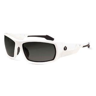 Ergodyne 50230 ODIN Smoke Lens White Safety Glasses