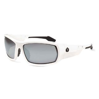 Ergodyne 50242 ODIN Silver Mirror Lens White Safety Glasses