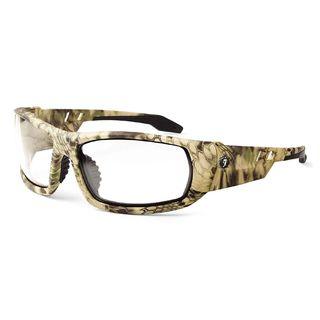 Ergodyne 50300 ODIN Clear Lens Kryptek Highlander Safety Glasses