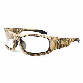 Ergodyne 50303 ODIN Anti-Fog Clear Lens Kryptek Highlander Safety Glasses