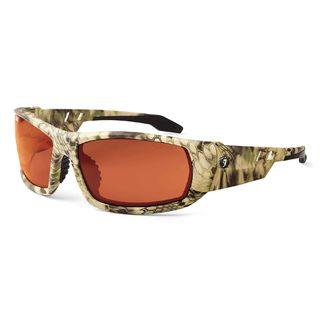 Ergodyne 50321 ODIN Polarized Copper Lens Kryptek Highlander Safety Glasses