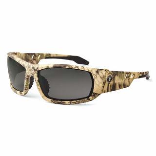 Ergodyne 50333 ODIN Anti-Fog Smoke Lens Kryptek Highlander Safety Glasses