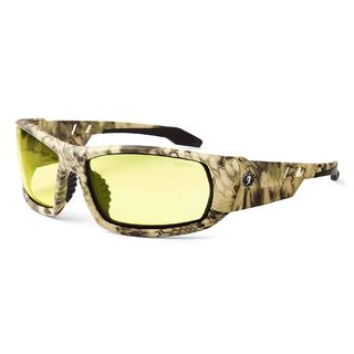 Ergodyne 50350 ODIN Yellow Lens Kryptek Highlander Safety Glasses