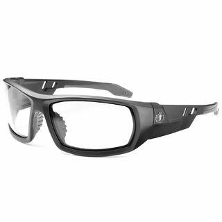 Ergodyne 50400 ODIN Clear Lens Matte Black Safety Glasses