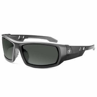 Ergodyne 50433 ODIN Anti-Fog Smoke Lens Matte Black Safety Glasses