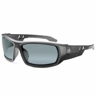Ergodyne 50442 ODIN Silver Mirror Lens Matte Black Safety Glasses