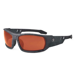 Ergodyne 50521 ODIN Polarized Copper Lens Kryptek Typhon Safety Glasses
