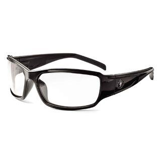 Ergodyne 51000 THOR Clear Lens Black Safety Glasses