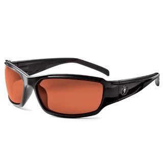 Ergodyne 51021 THOR Polarized Copper Lens Black Safety Glasses