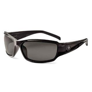 Ergodyne 51031 THOR Polarized Smoke Lens Black Safety Glasses