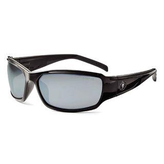 Ergodyne 51042 THOR Silver Mirror Lens Black Safety Glasses