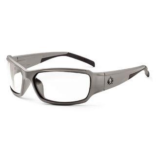 Ergodyne 51103 THOR Anti-Fog Clear Lens Matte Gray Safety Glasses