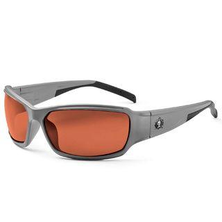 Ergodyne 51121 THOR Polarized Copper Lens Matte Gray Safety Glasses