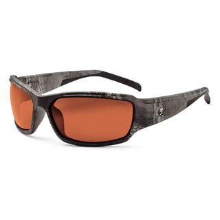 Ergodyne 51321 THOR Polarized Copper Lens Kryptek Typhon Safety Glasses