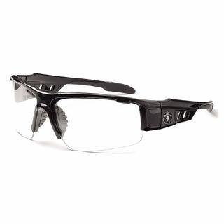 Ergodyne 52003 DAGR Anti-Fog Clear Lens Black Safety Glasses