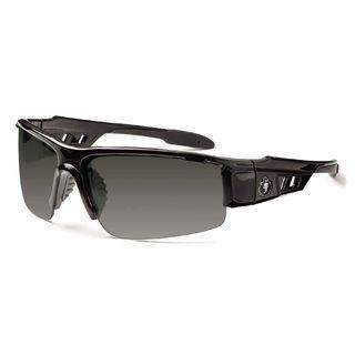 Ergodyne 52030 DAGR Smoke Lens Black Safety Glasses