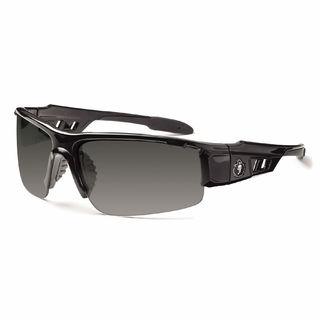 Ergodyne 52033 DAGR Anti-Fog Smoke Lens Black Safety Glasses