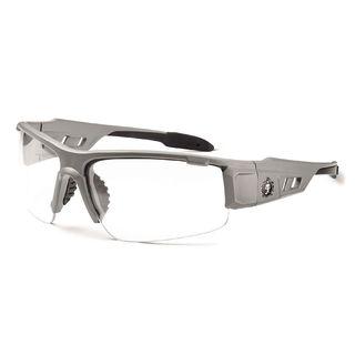 Ergodyne 52100 DAGR Clear Lens Matte Gray Safety Glasses