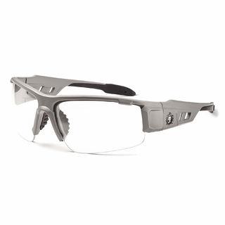 Ergodyne 52103 DAGR Anti-Fog Clear Lens Matte Gray Safety Glasses