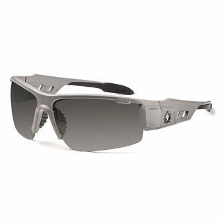 Ergodyne 52133 DAGR Anti-Fog Smoke Lens Matte Gray Safety Glasses