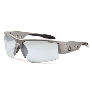 Ergodyne 52180 DAGR In/Outdoor Lens Matte Gray Safety Glasses