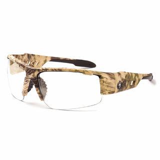Ergodyne 52303 DAGR Anti-Fog Clear Lens Kryptek Highlander Safety Glasses