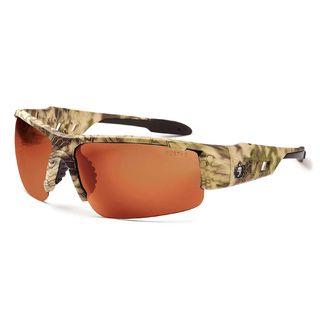 Ergodyne 52320 DAGR Copper Lens Kryptek Highlander Safety Glasses