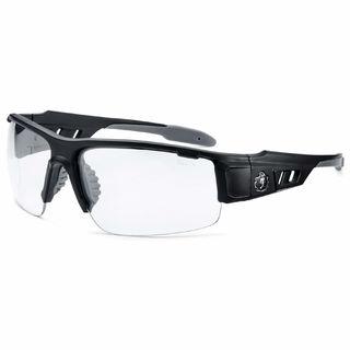 Ergodyne 52400 DAGR Clear Lens Matte Black Safety Glasses