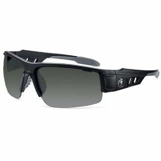 Ergodyne 52430 DAGR Smoke Lens Matte Black Safety Glasses