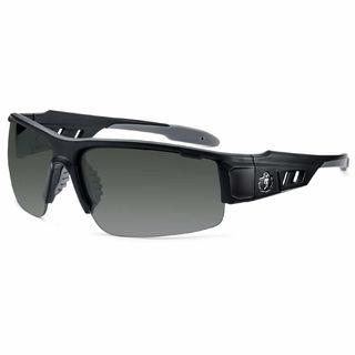 Ergodyne 52433 DAGR Anti-Fog Smoke Lens Matte Black Safety Glasses