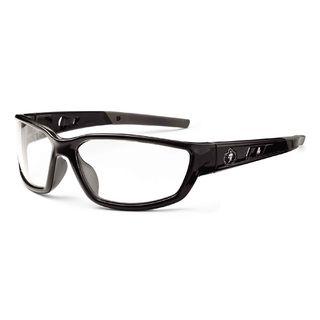 Ergodyne 53000 KVASIR Clear Lens Black Safety Glasses