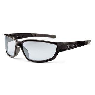 Ergodyne 53080 KVASIR In/Outdoor Lens Black Safety Glasses