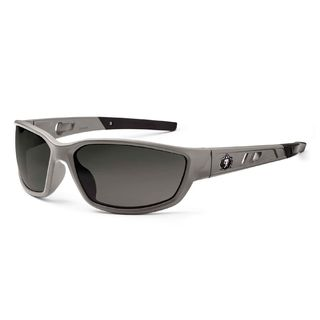 Ergodyne 53130 KVASIR Smoke Lens Matte Gray Safety Glasses