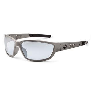 Ergodyne 53180 KVASIR In/Outdoor Lens Matte Gray Safety Glasses