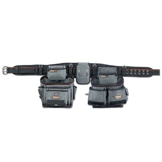 Ergodyne 5500 5500 XL Gray 28-Pocket Tool Rig-Synthetic