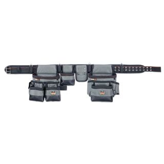 Ergodyne 5504 5504 L Gray 34-Pocket Tool Rig-Synthetic
