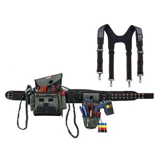 Ergodyne 5506S 5506S L Gray Installer/Drill Holder Tool Rig