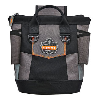 Ergodyne 5517 5517  Black Premium Topped Tool Pouch - Zipper
