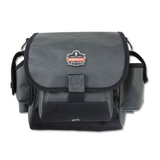 Ergodyne 5518 5518  Gray Topped Tool Pouch - Loop Attachment