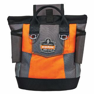 Ergodyne 5527 5527  Orange Premium Topped Tool Pouch - Hinge