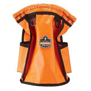 Ergodyne 5538 5538  Orange Topped Parts Pouch - Tarpaulin