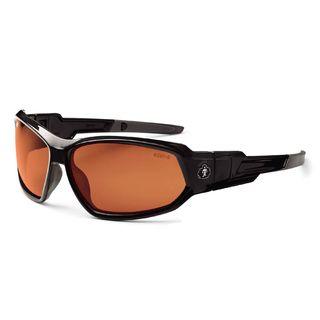 Ergodyne 56021 LOKI Polarized Copper Lens Black Safety Glasses // Goggles