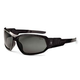 Ergodyne 56031 LOKI Polarized Smoke Lens Black Safety Glasses // Goggles