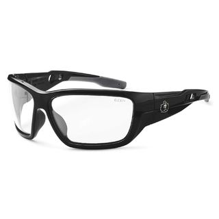 Ergodyne 57003 BALDR Anti-Fog Clear Lens Black Safety Glasses