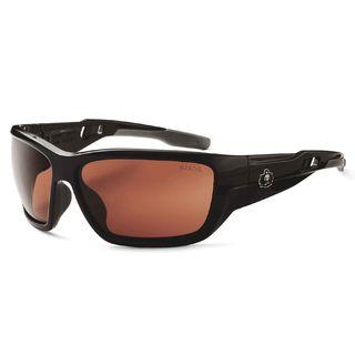 Ergodyne 57020 BALDR Copper Lens Black Safety Glasses