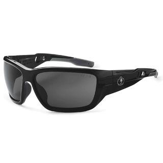 Ergodyne 57031 BALDR Polarized Smoke Lens Black Safety Glasses