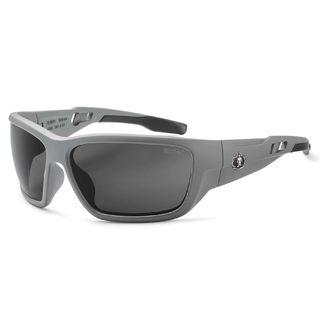 Ergodyne 57133 BALDR Anti-Fog Smoke Lens Matte Gray Safety Glasses