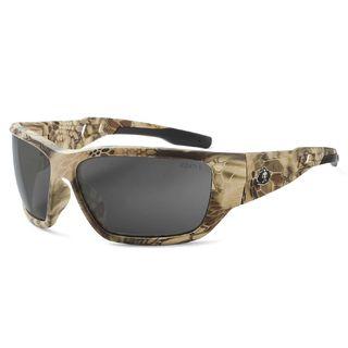 Ergodyne 57331 BALDR Polarized Smoke Lens Kryptek Highlander Safety Glasses