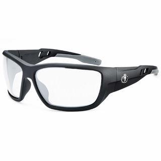 Ergodyne 57403 BALDR Anti-Fog Clear Lens Matte Black Safety Glasses